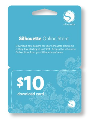 Downloadkarte Silhouette $10